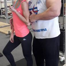 Игорь Омельницкий посетил спортивный клуб Гард